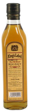 Kings Label Whisky